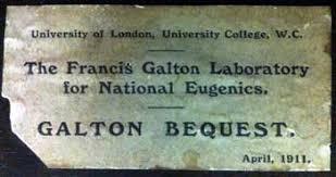 Galton bequest