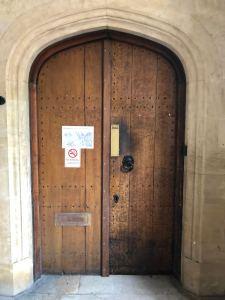Usable Unusable door